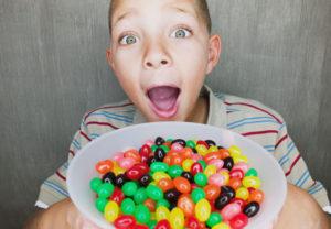 Azúcar: alcoholismo de los niños