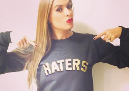 Galilea Montijo ha aprendido a ignorar a quienes no la apoyan. (Instagram)