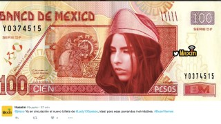 lady cien pesos