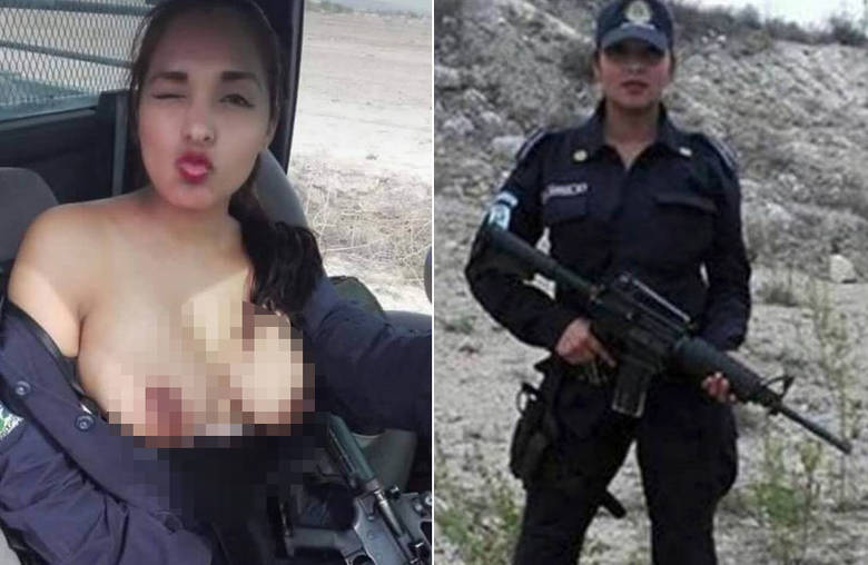 policia topless