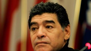 Diego Armando Maradona tiene un historial de violencia.  (Photo by Paolo Bruno/Getty Images)