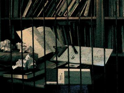 libros en carcel