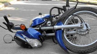 accidente de motocicleta