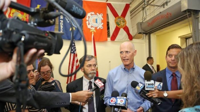 Scott declara estado de emergencia en Florida
