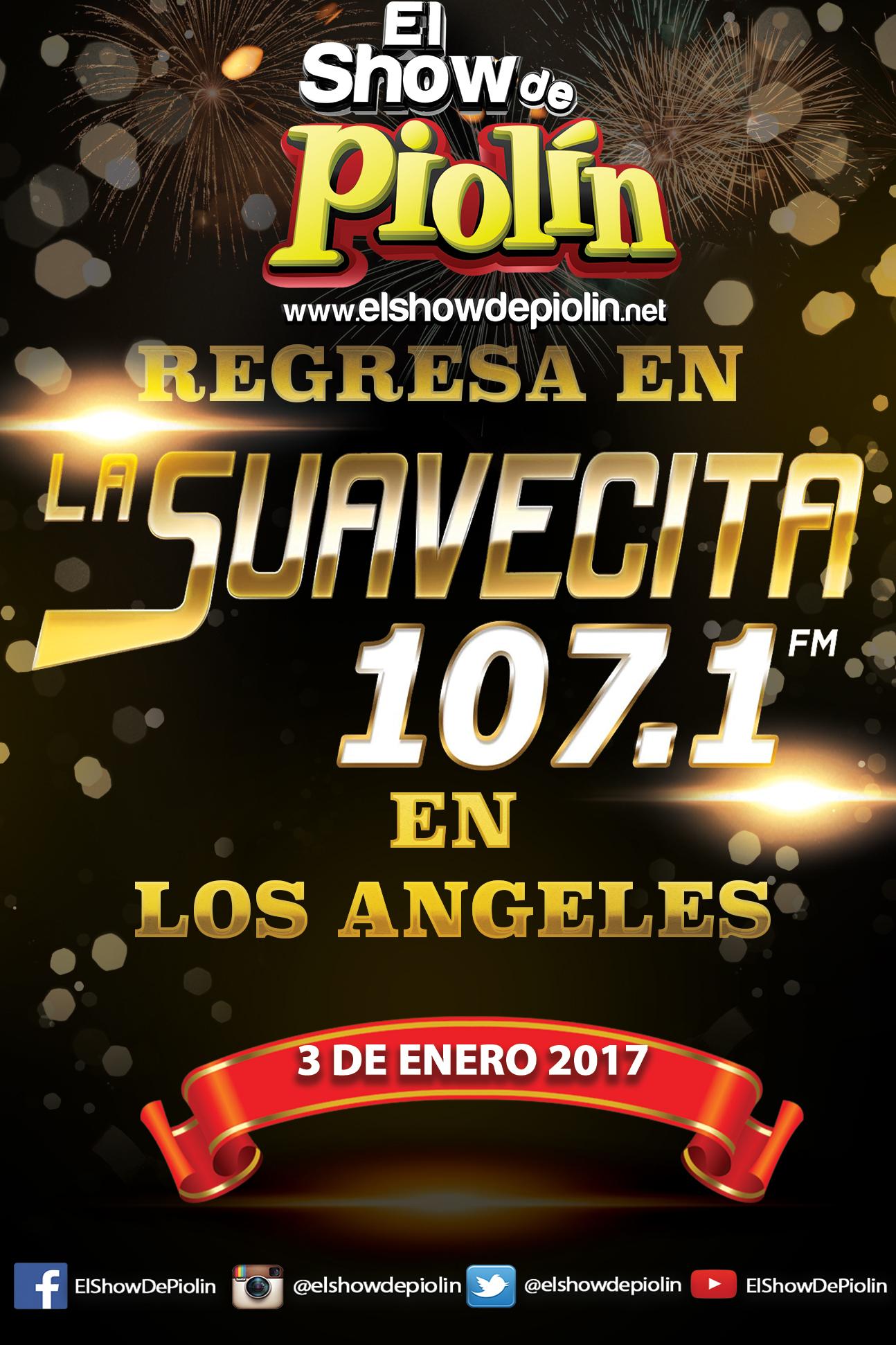 El Show de Piolin Regresa a La Suavecita 107.1!