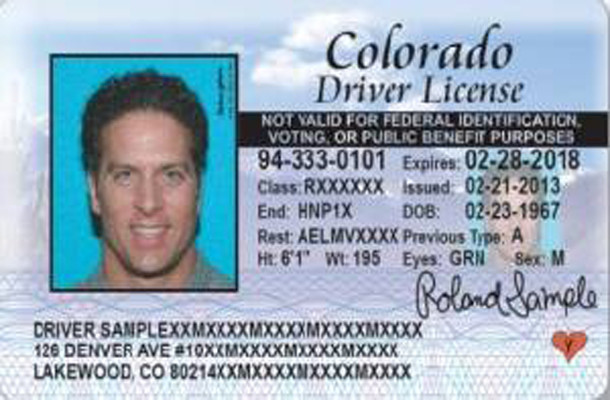 Colorado Driver License Denver Driver Denver Colorado Driver License Driver Denver Colorado License