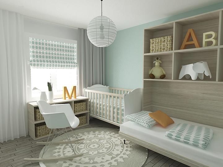 Lista con todo lo que necesitas para el cuarto del bebé |