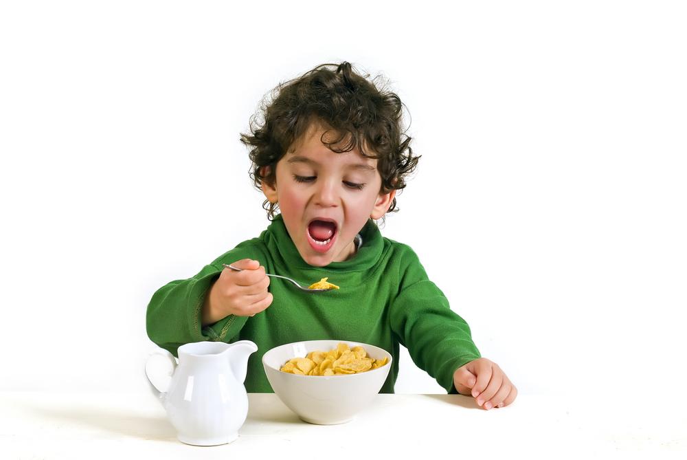 Niño Imagenes De Tomar Desayuno Animado