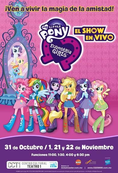 Concurso Para Ir Al Show My Little Pony Y Las Equestria