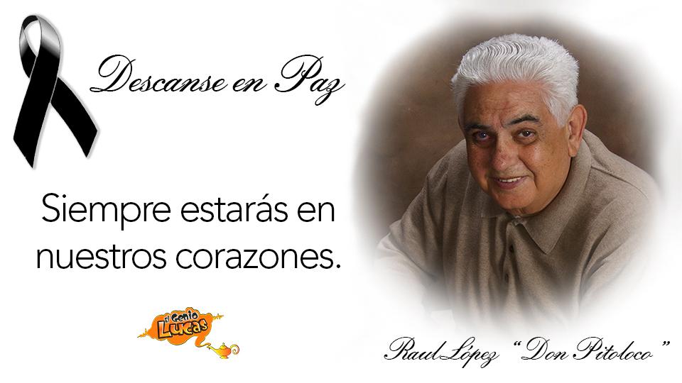 El Show De Alex El Genio Lucas Descanse En Paz Don Pitoloco