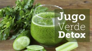 Como preparar licuados verdes para bajar de peso