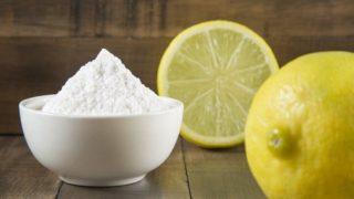 beneficios del limón con el bicarbonato